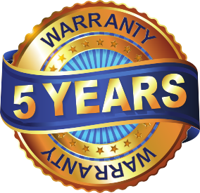 10 year warranty badge